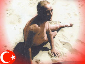 "Mustafa Kemal Atatürk (pronounced [musˈtäfä ceˈmäl ätäˈtyɾc]; 19 May 1881 (Conventional) – 10 November 1938) was an Ottoman and Turkish army officer, revolutionary statesman, writer, and the first President of Turkey. He is credited with being the founder of the Republic of Turkey. His surname, Atatürk (meaning ""Father of the Turks""), was granted to him (and forbidden to any other person) in 1934 by the Turkish parliament."